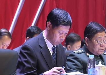 集安市代表团39名通化人大代表出席通化市第八届人民代表大会第三次会议 (2)