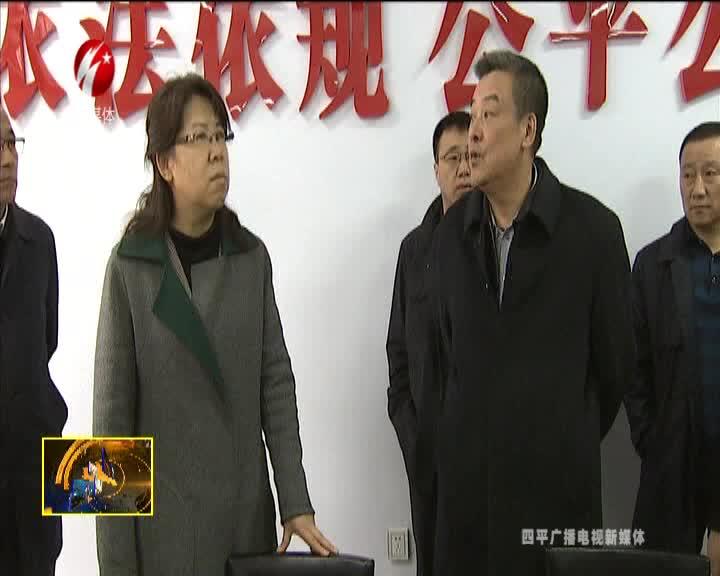 副省长李悦到伊通满族自治县调研
