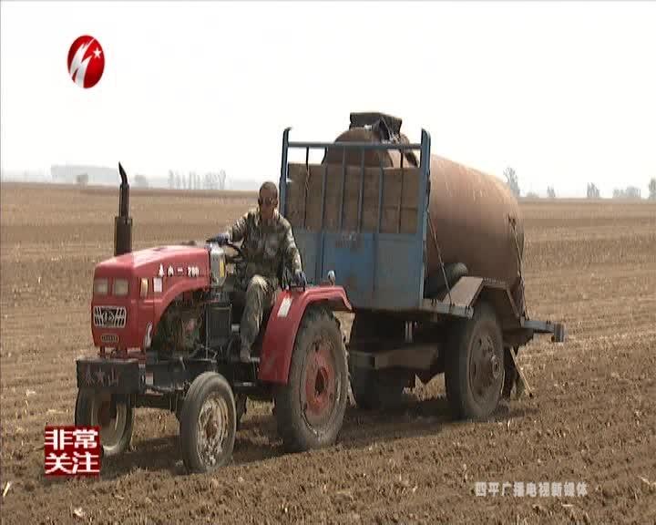 梨树县万发镇:抗旱保苗全面掀起高潮
