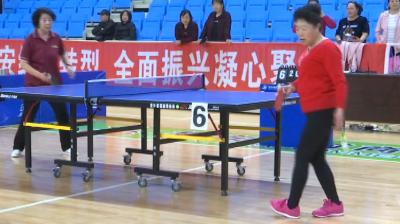 """集安市举办""""康乐家园杯""""老年人乒乓球比赛"""