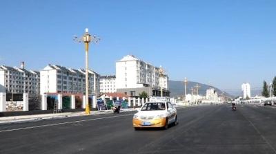 集安市云水路道路建设项目粮丰街至电厂街已完工