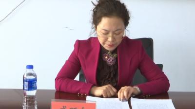臧旺红深入太王镇宣讲党的十九届四中全会精神