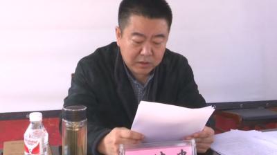 丁德贵深入青石镇宣讲党的十九届四中全会精神