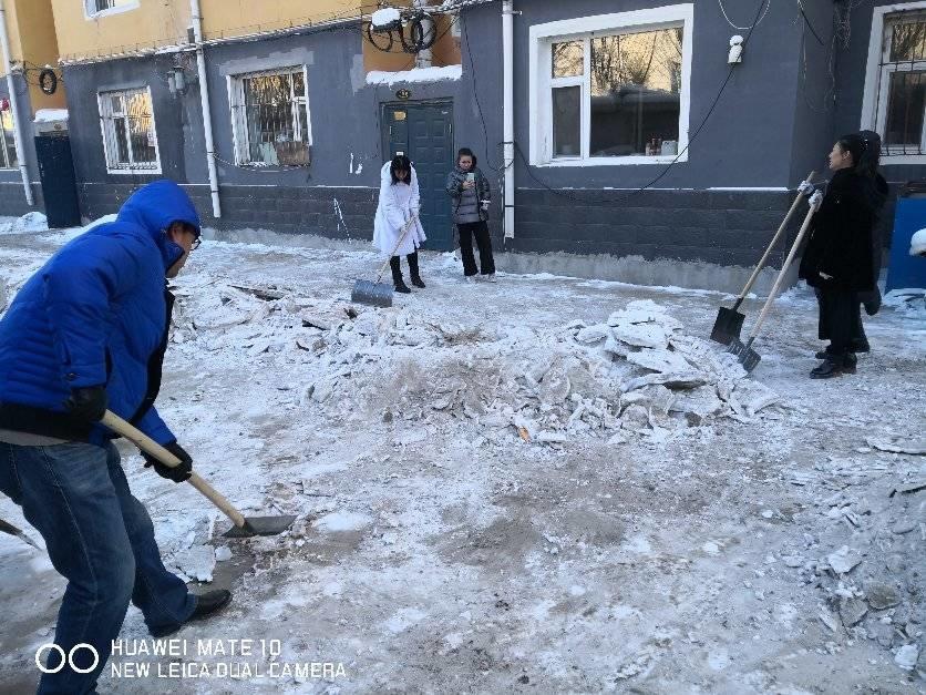 前郭县城区清除冰雪工作再发力(二)