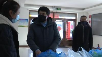 【团结一心 共抗疫情】集安市文联为都城社区捐赠防疫物资