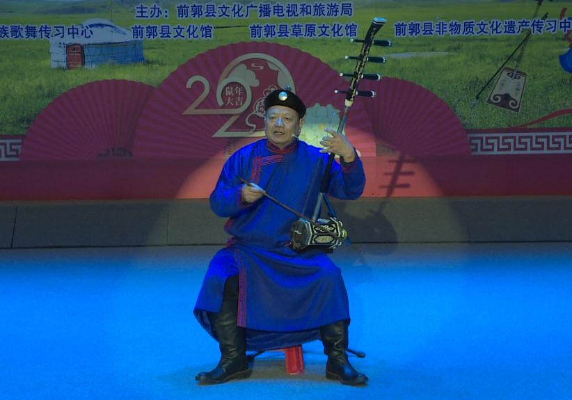 蒙古语好来宝:《中国加油》