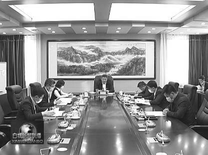 市政府党组召开专题民主生活会