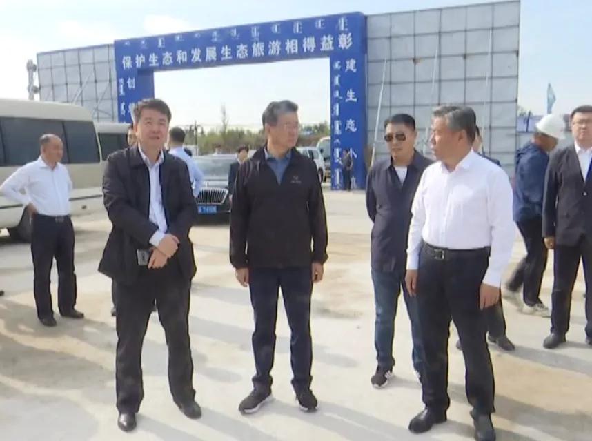 省商务厅协同知名企业家到前郭县考察