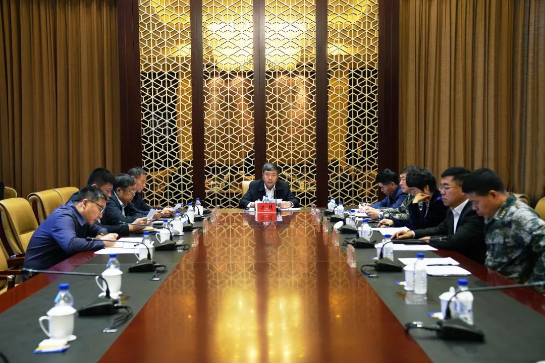 前郭县委召开2020年第16次常委(扩大)会议