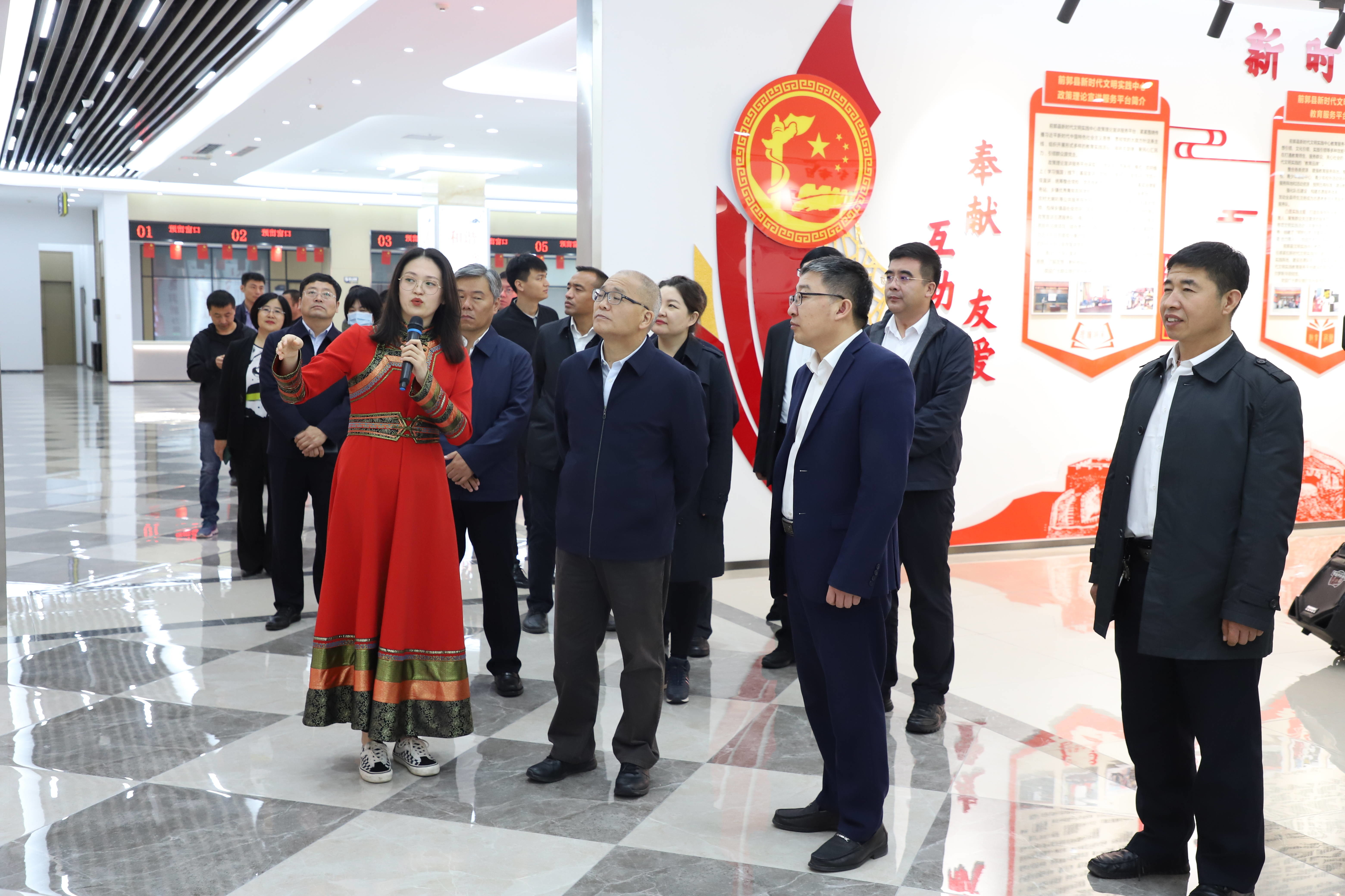 省委常委、宣传部长石玉钢一行到前郭调研