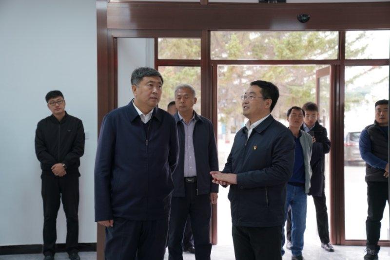松原市委副书记、前郭县委书记边境深入白依拉嘎乡、额如乡、长龙乡实地调研