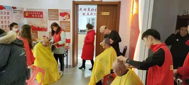 南阳社区非公党支部开展志愿服务献爱心主题党日活动