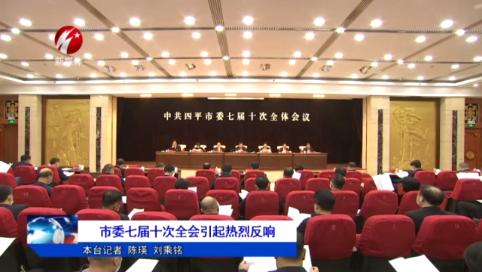 四平市委七届十次全会引起热烈反响