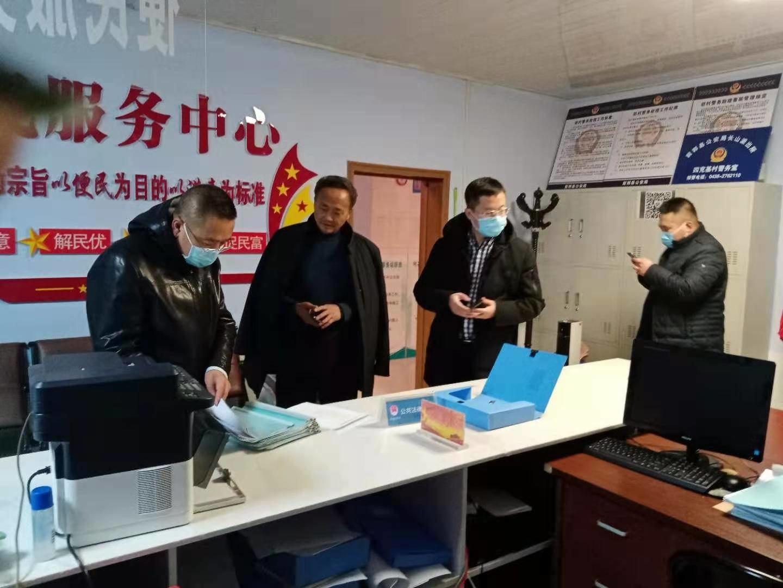 长山镇:众志成城  抗击疫情