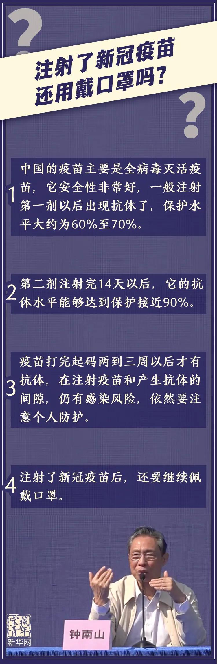 这3个关键问题,钟南山这样说!