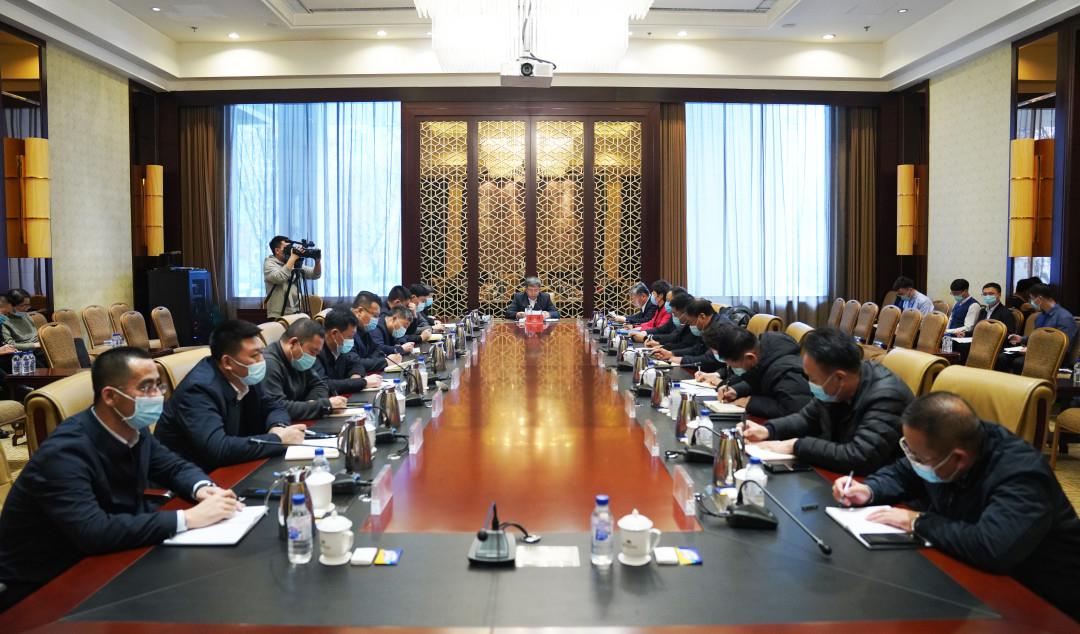 前郭县召开重点工作专题会议