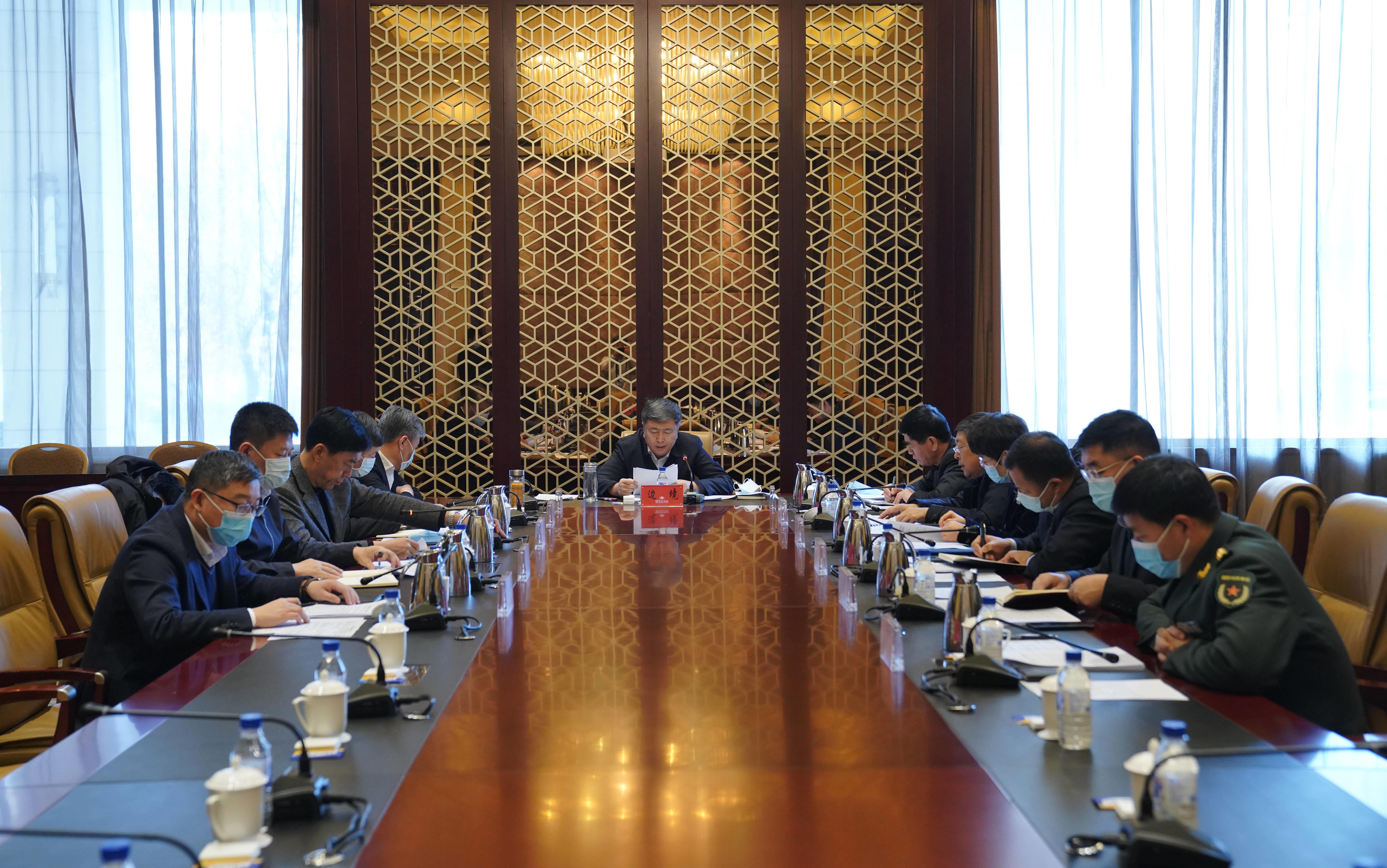 前郭县委召开2021年第2次常委会会议