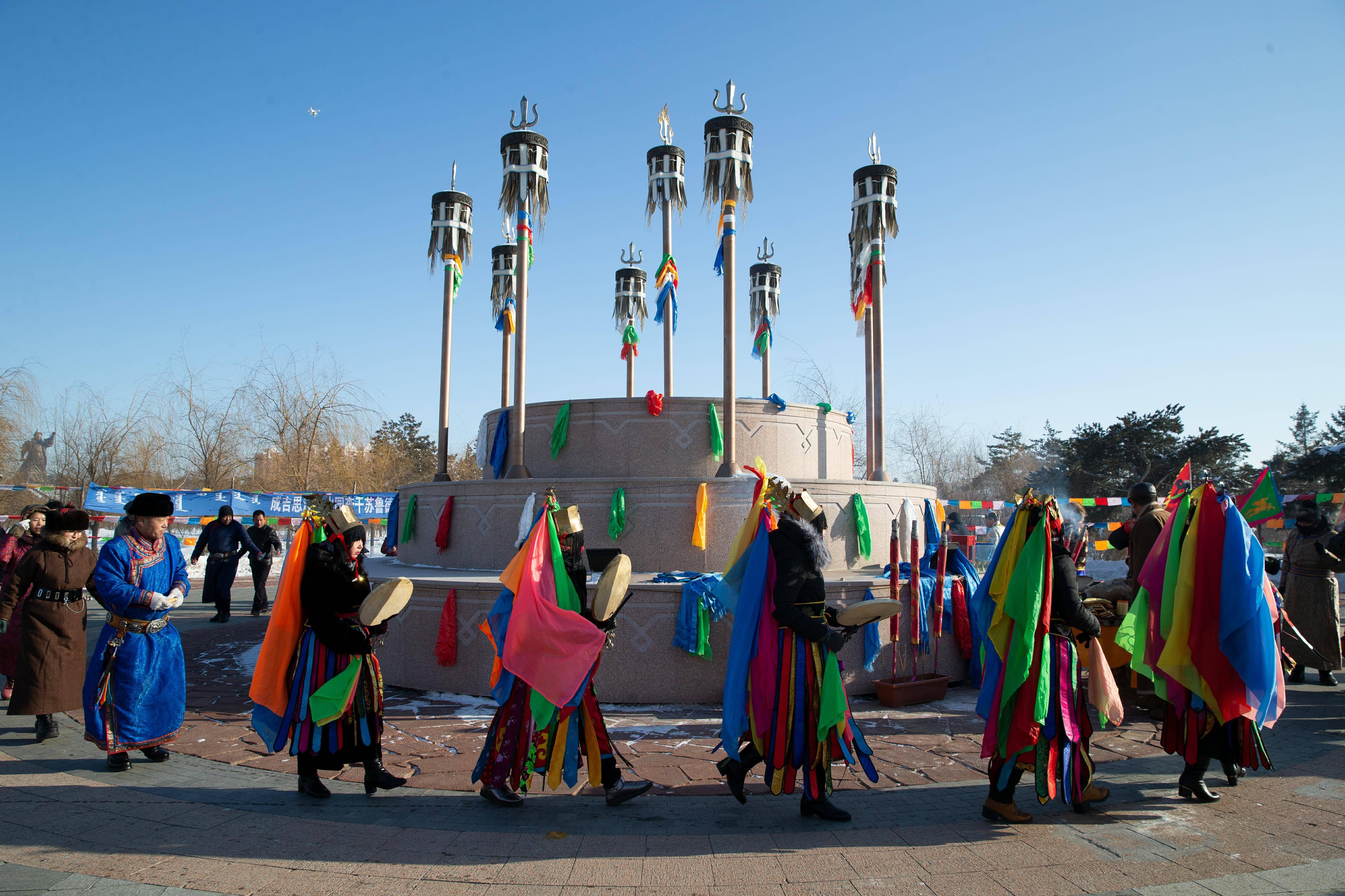 郭尔罗斯查干萨日传统习俗