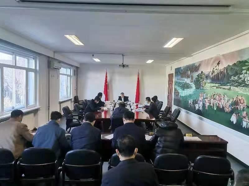 前郭县政府召开第83次党组会和第87次常务会议