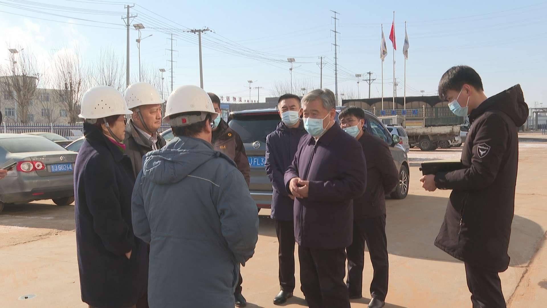 前郭县委副书记、县长卓日格检查安全生产、交通安全、秸秆禁烧等工作