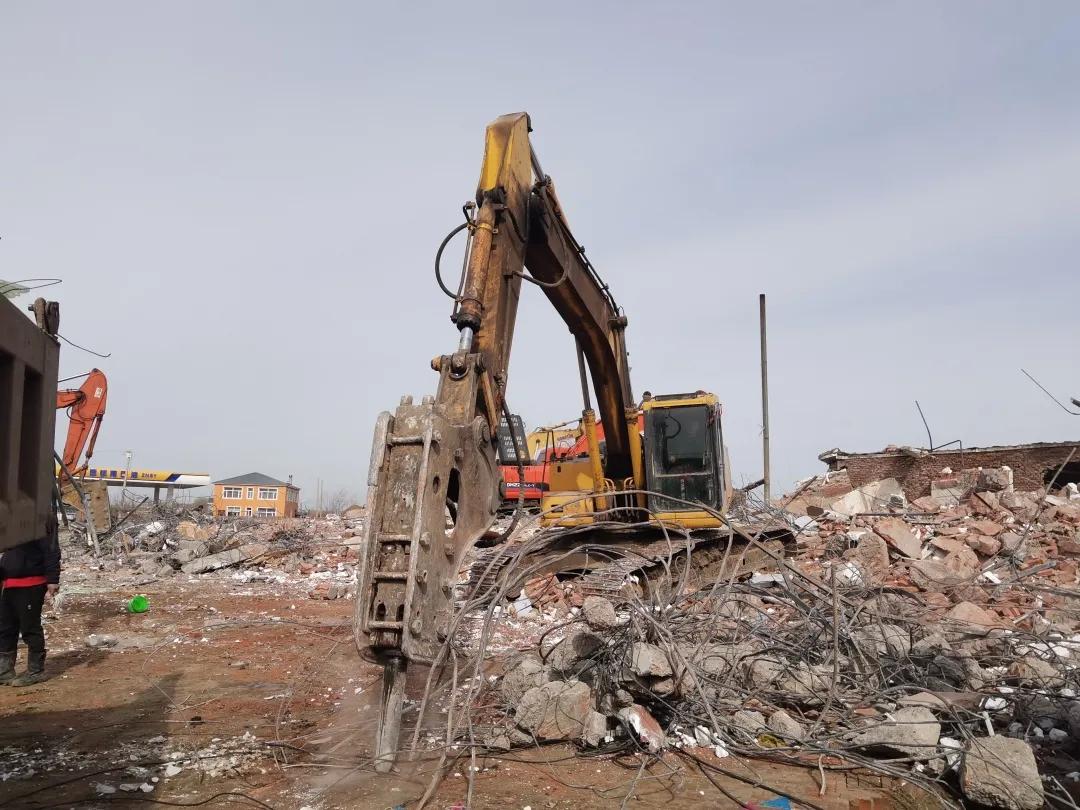 【查干湖保护和开发进行时】查干湖生态小镇征拆工作持续推进