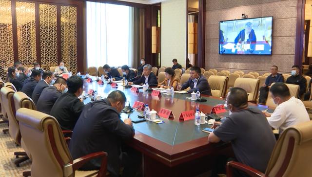 前郭县委副书记、县长卓日格主持召开县疫情防控领导小组会议