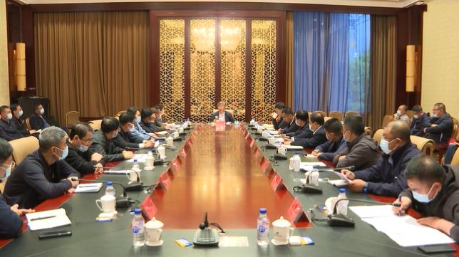 【众志成城 防控疫情】前郭县疫情防控领导小组召开第94次会议