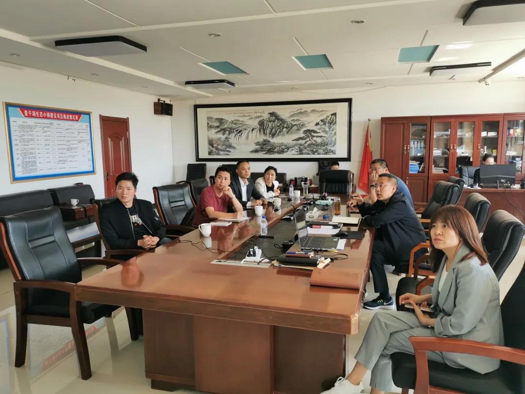 【查干湖保护和开发进行时】广东省吉林松原商会考察团一行到查干湖生态小镇考察洽谈