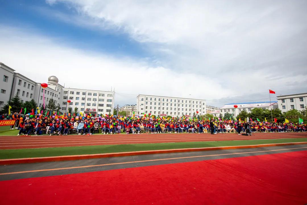 夏花绽放 不负青春韶华——前郭县第五中学举行2021届学生毕业典礼