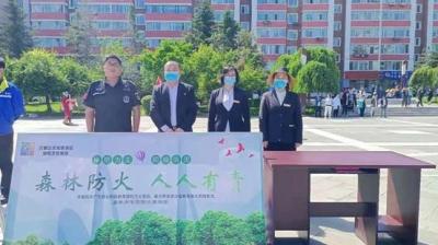 """六鼎山文化旅游区参加敦化市""""安全生产月""""咨询日活动"""