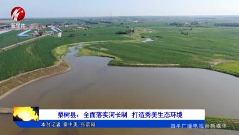 梨树县:全面落实河长制 打造秀美生态环境