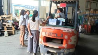 敦化市市场监管局开展安全生产检查
