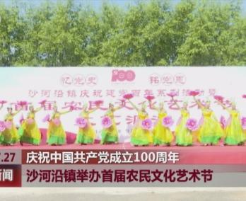敦化市沙河沿镇举办首届农民文化艺术节