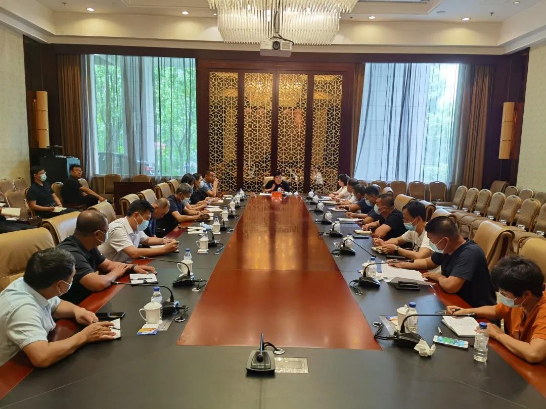【众志成城 防控疫情】前郭县疫情防控工作领导小组召开工作会议