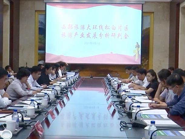 吉林省西部旅游大环线松白片区旅游产业发展分析研判会在前郭县召开