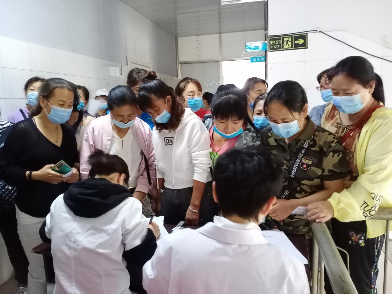 """前郭县长山镇:关心女性 切实做好""""两癌""""筛查工作"""