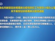 敦化市新型冠状病毒肺炎疫情防控工作领导小组办公室关于新型冠状病毒肺炎疫情通报