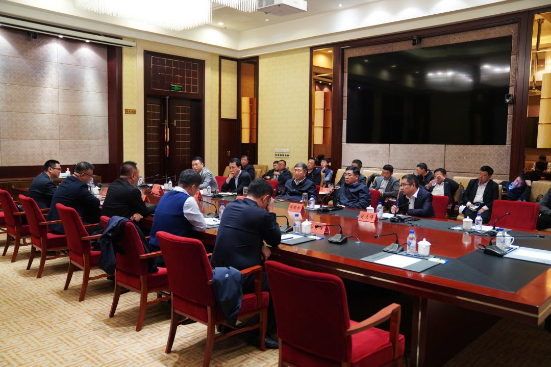 边境会见中国化学工程集团生态环境有限公司客人