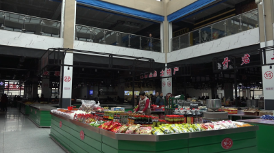 告别露天市场 集安市东城商厦农贸市场投入使用